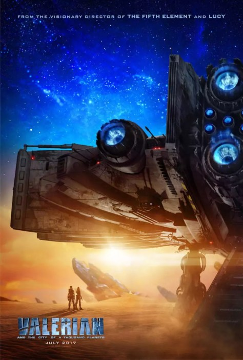 Eerste Valerian and the City of a Thousand Planets poster
