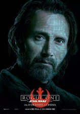 Star Wars Rogue One karakterposter Mads Mikkelsen als Galen Erso