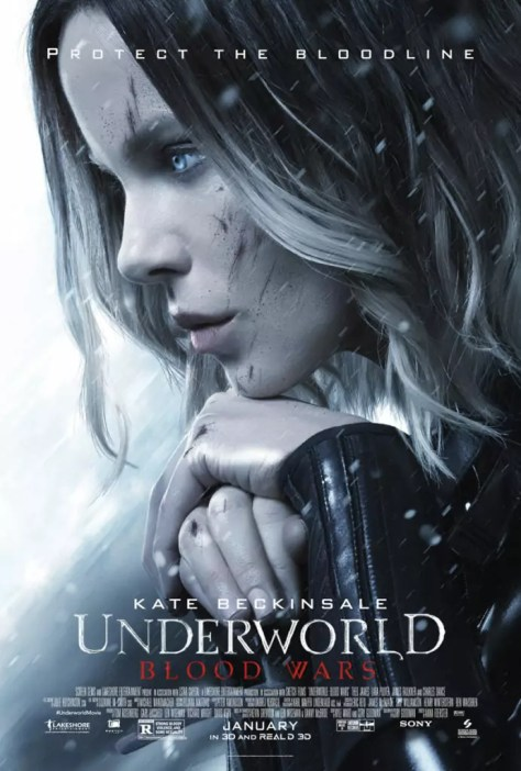 Nieuwe Underworld Blood Wars poster met Kate Beckinsale