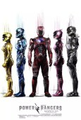 Coole Power Rangers 2017 posters met witte achtergrond 4