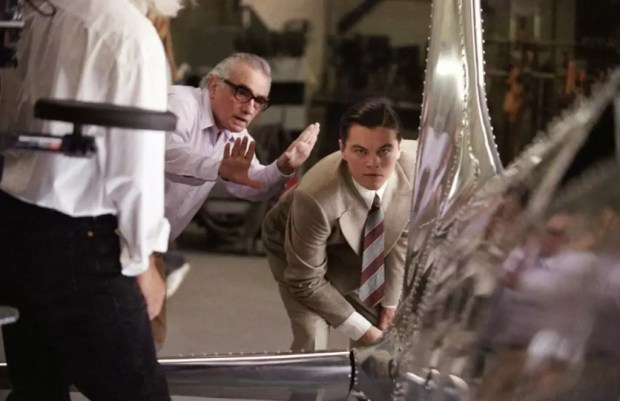Martin Scorsese met Leonardo DiCaprio in The Departed