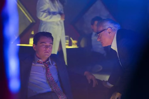 Martin Scorsese met Leonardo DiCaprio in Wolf of Wall Street