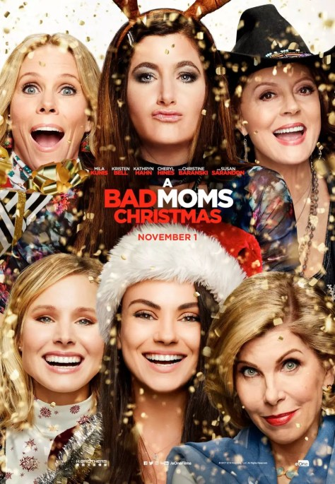 Alle dames op Bad Moms Christmas poster