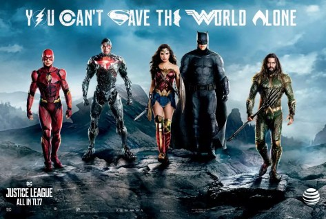 De cast van The Justice League