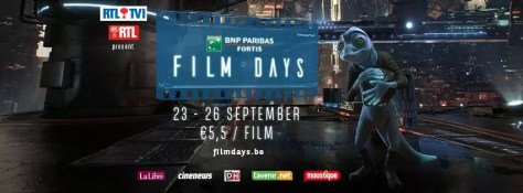 BNP Paribas Fortis Film Days 2018