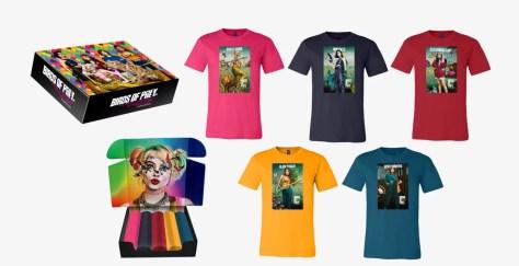 Wedstrijd Win een pakket exclusieve T-shirts van Birds of Prey