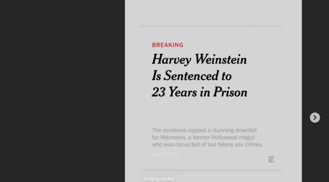 Harvey Weinstein EINDELIJK schuldig bevonden aan seksueel misbruik