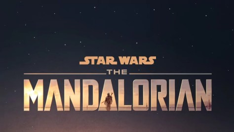 The Mandalorian logo op Disney Plus