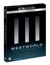 Westworld HBO S3 Steelbook cover