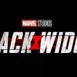 Black Widow 2021 logo banner