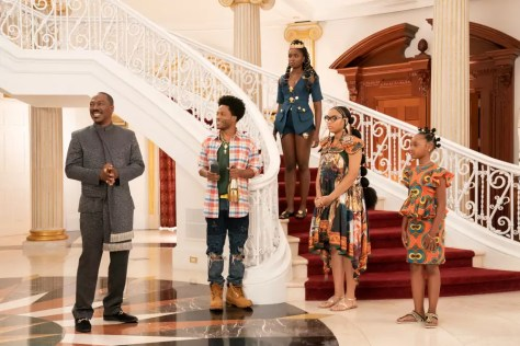De jonge cast van Coming to America 2 in Coming 2 America recensie op Prime Video