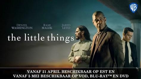 The Little Things komt vanaf 21 april 2021 op VOD DVD & Blu-Ray