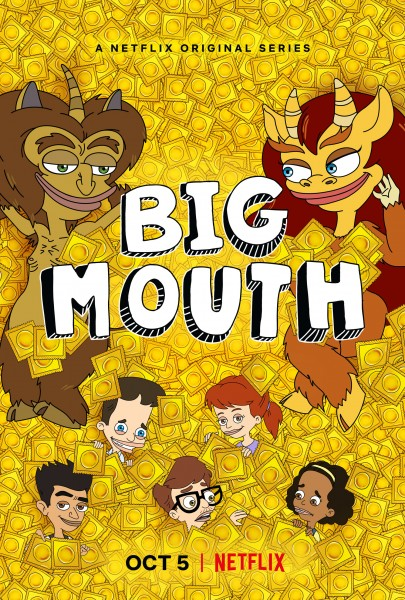 big mouth season 2 poster 405x600 Big Mouth Season 2