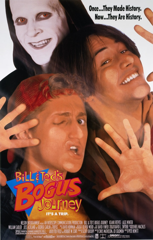 Bill & Ted's Bogus Journey Review