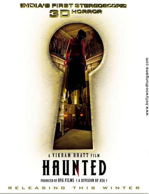 Haunted 3D Movie Poster And Trailer 2011