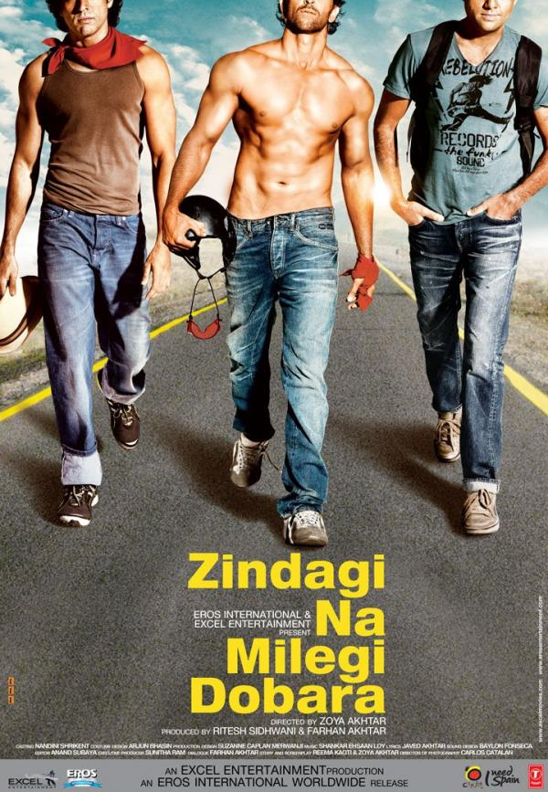 Zindagi Na Milegi Dobara Movie Poster And Trailer 2011