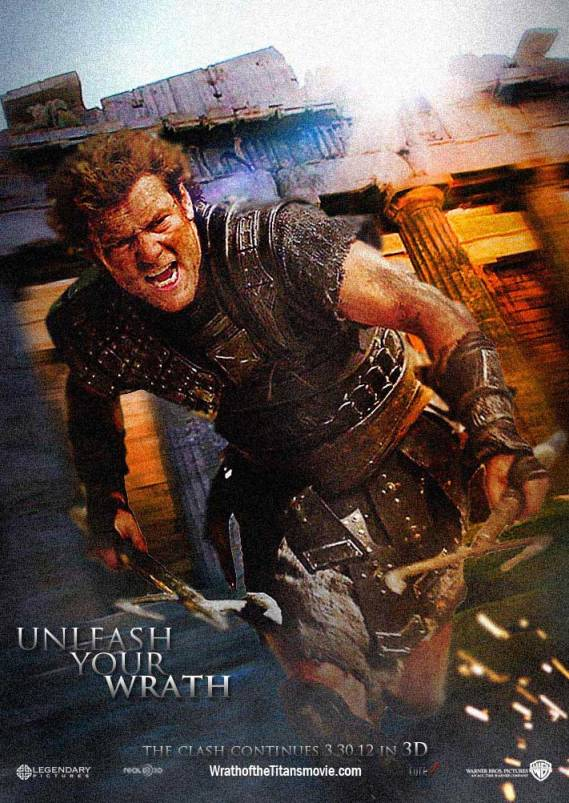 Wrath of the Titans New Poster