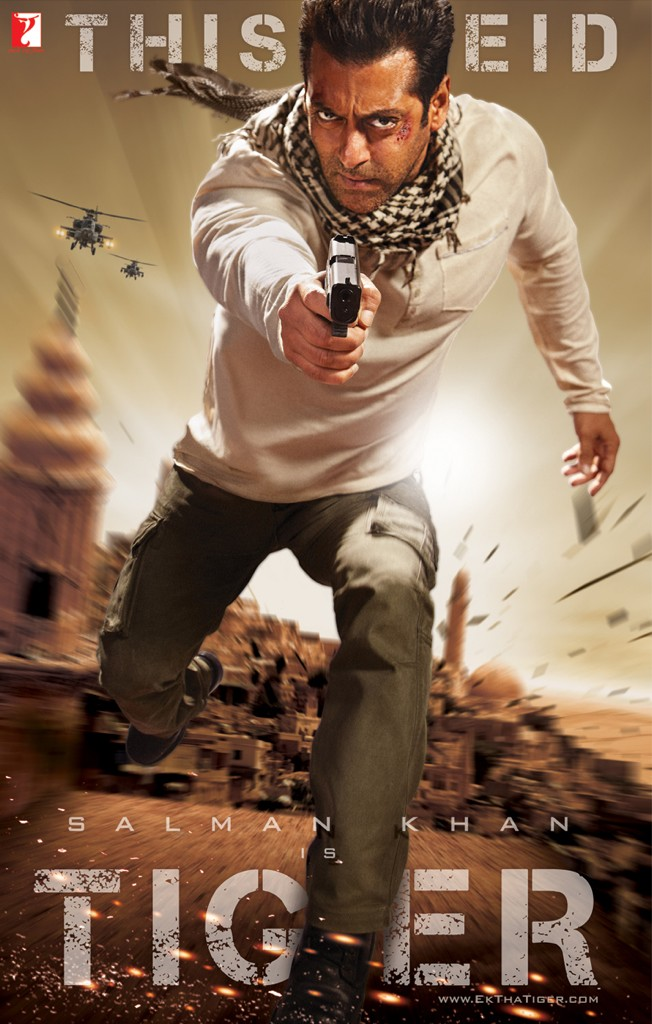 Ek Tha Tiger Movie Poster And Trailer 2012