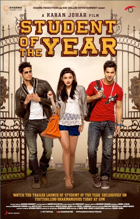 Student of the Year Official Poster
