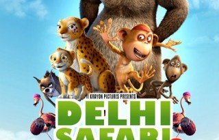 Delhi Safari Movie poster 2012