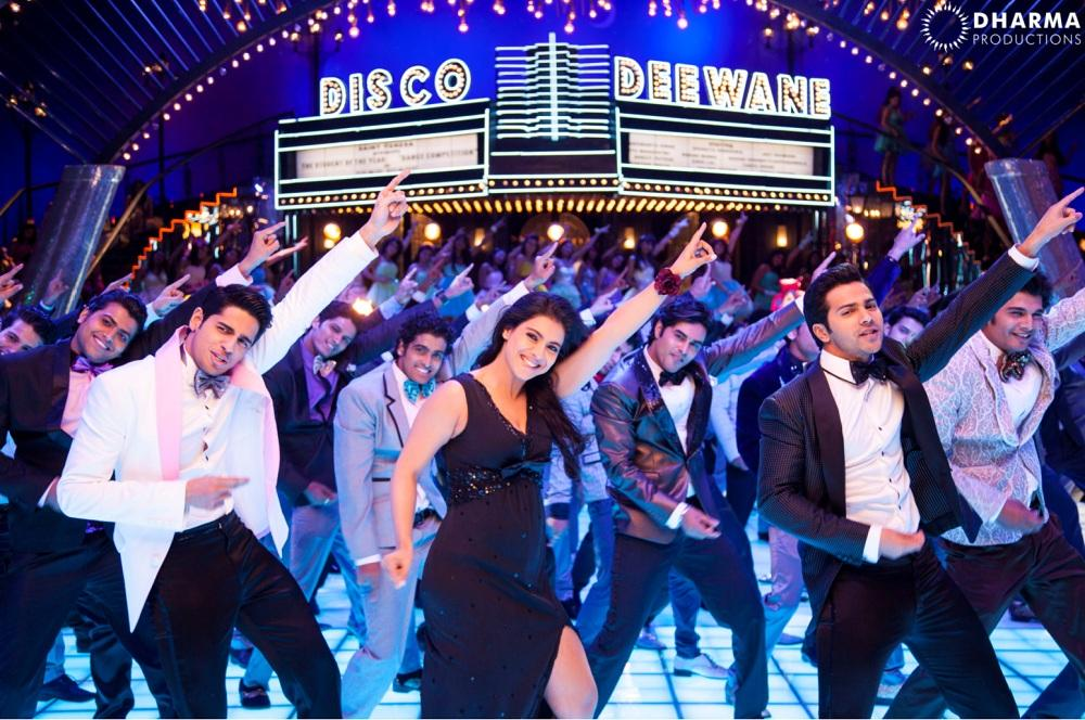 kajols first look in disco deewane from student of the