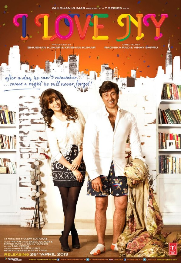 I LOVE NY First Look of Sunny Deol & Kangna Ranaut Movie