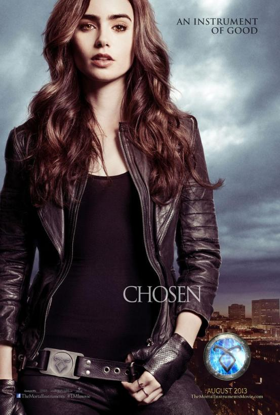 The Mortal Instruments City of Bones Character Poster - Choosen