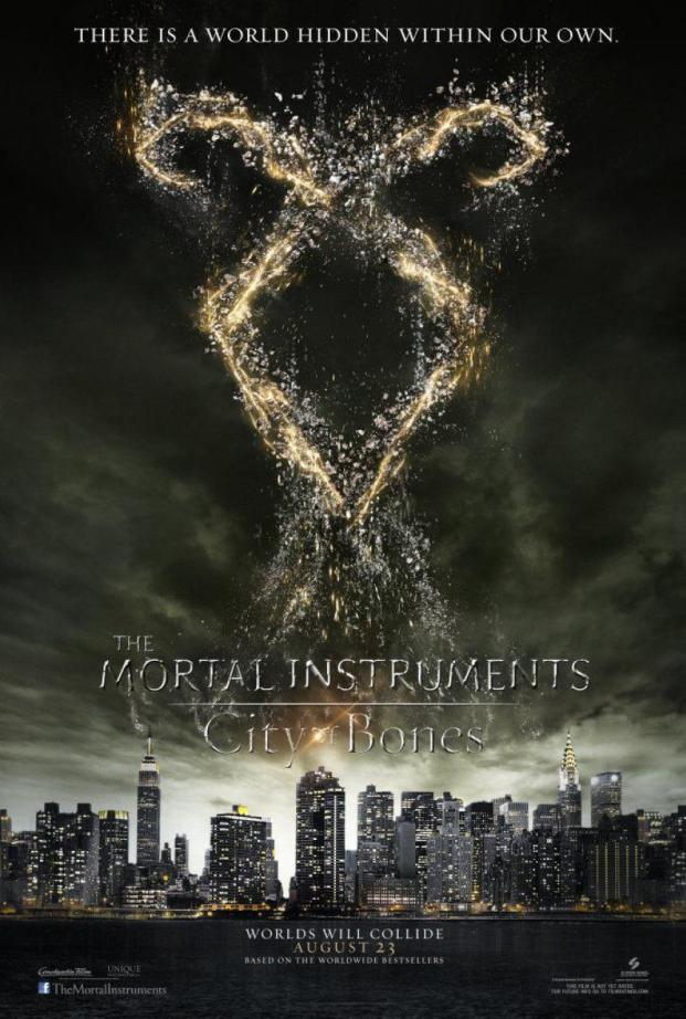 The Mortal Instruments City of Bones Teaser Poster