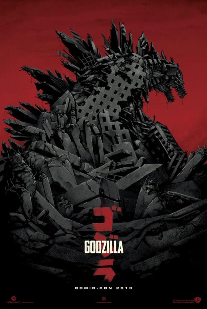 Godzilla Movie Poster 2