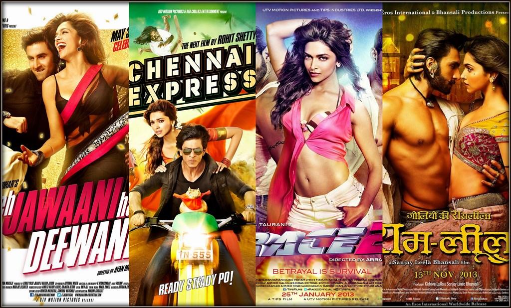 Deepika Padukone - Best Actress of 2013 with 4 ...