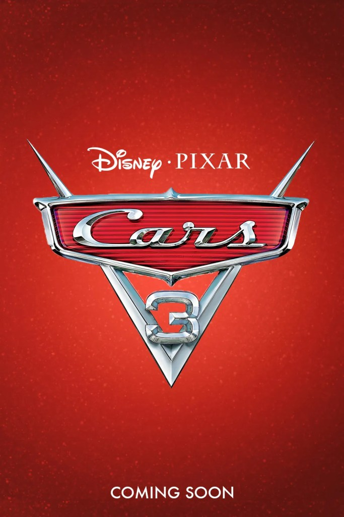 Cars 3 Poster 1- India Release