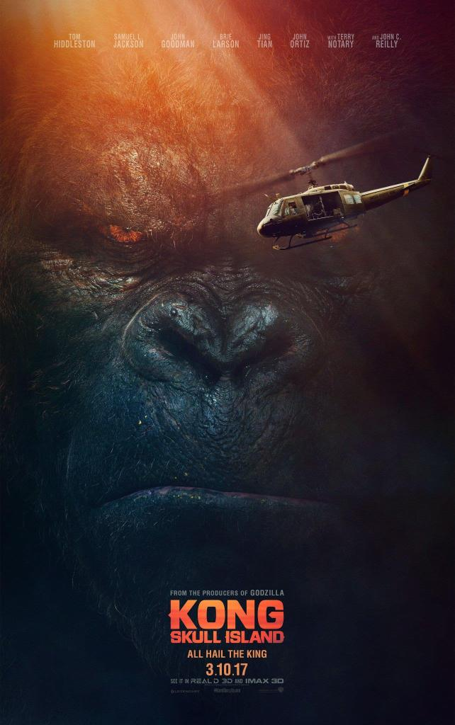 Kong - Skull Island Poster 1- India Release