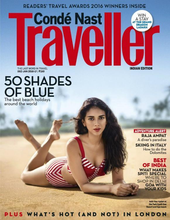 Aditi Rao Hydari - Condé Nast Traveller Issue December 2016