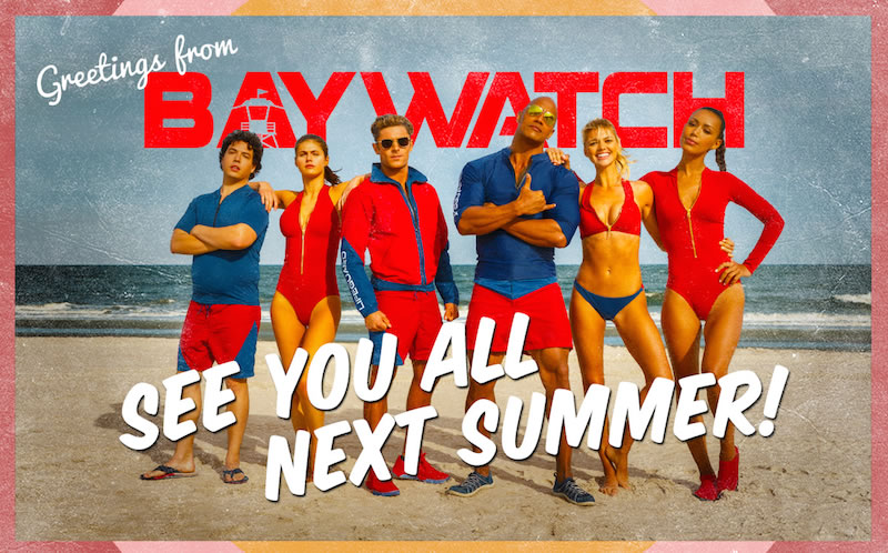 Baywatch Poster 5- India Release