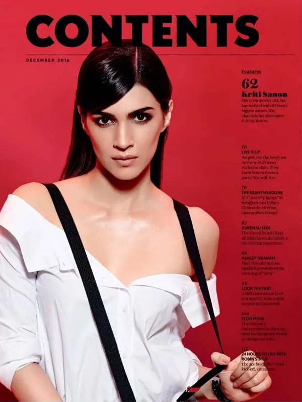 Kriti Sanon Full Photoshoot Of Maxim Magazine December 2016 Issue Pictures 3