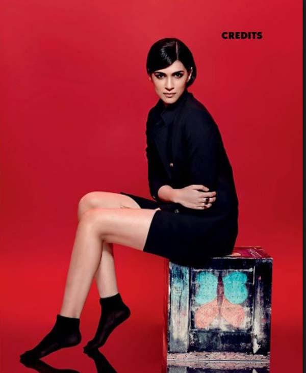 kriti sanon photoshoot maxim magazine december 2016 issue bollywood