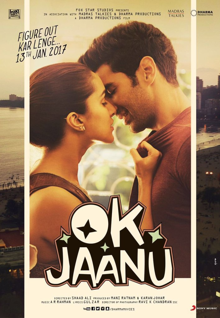 OK Jaanu Romantic Third Poster