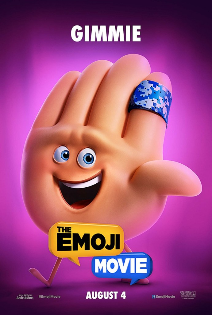 The Emoji Movie Poster 3- India Release 2017