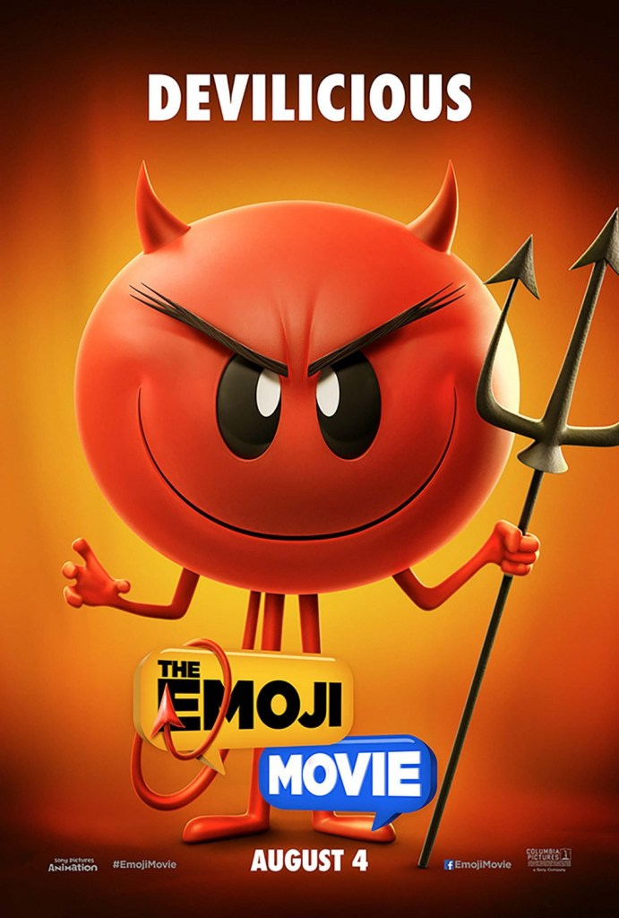 The Emoji Movie Poster - India Release 2017