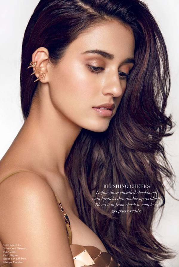 Disha Patani Photoshoot Verve Magazine January 2017 Image 6