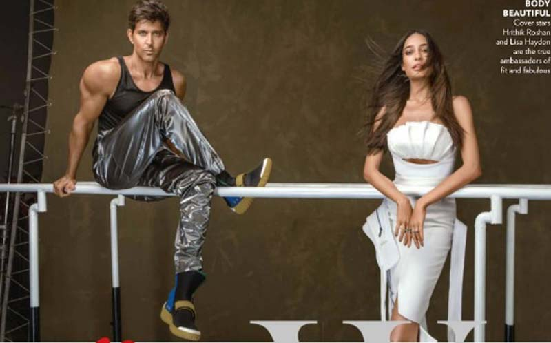 Hrithik Roshan & Lisa Haydon Vogue India Photoshoot January 2017 Picture 1