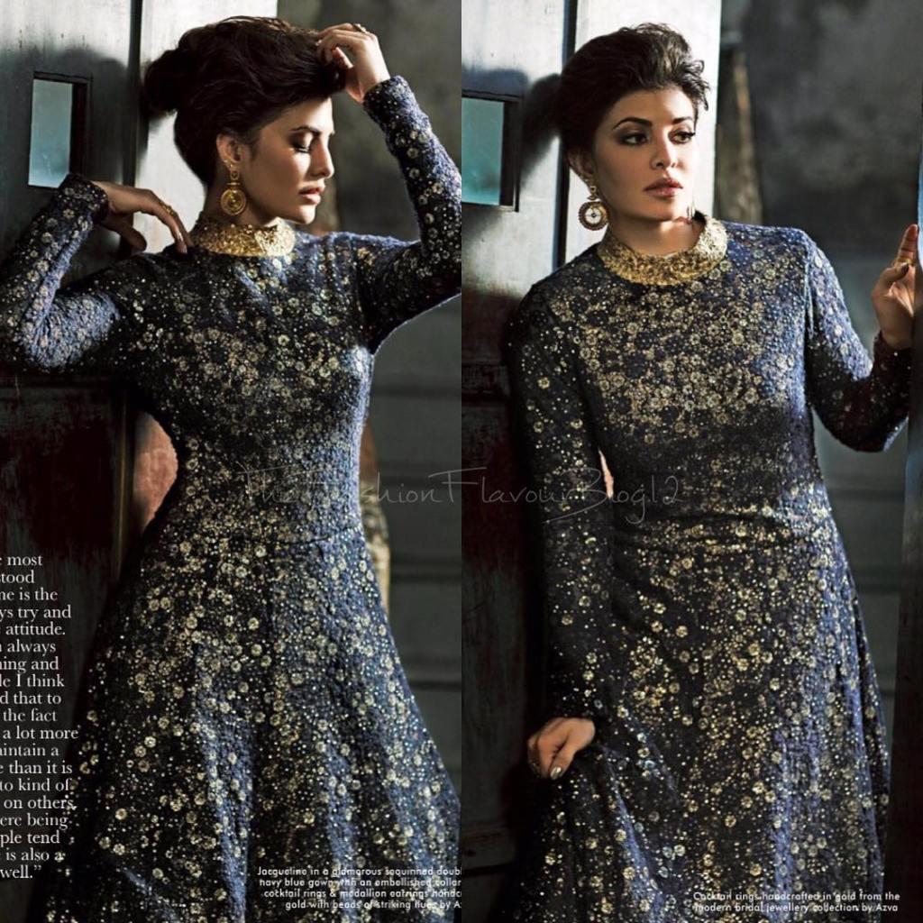 Jaqueline Fernandez Cover PhotoShoot for Hi!Blitz Magazine January 2017 Image 1