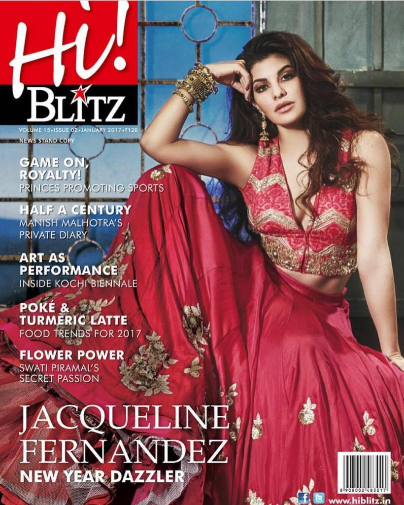 Jaqueline Fernandez Cover PhotoShoot for Hi!Blitz Magazine January 2017