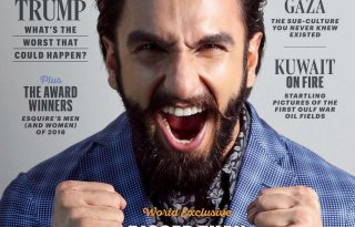 Ranveer Singh's Cover Photoshoot For Esquire Magazine January 2017