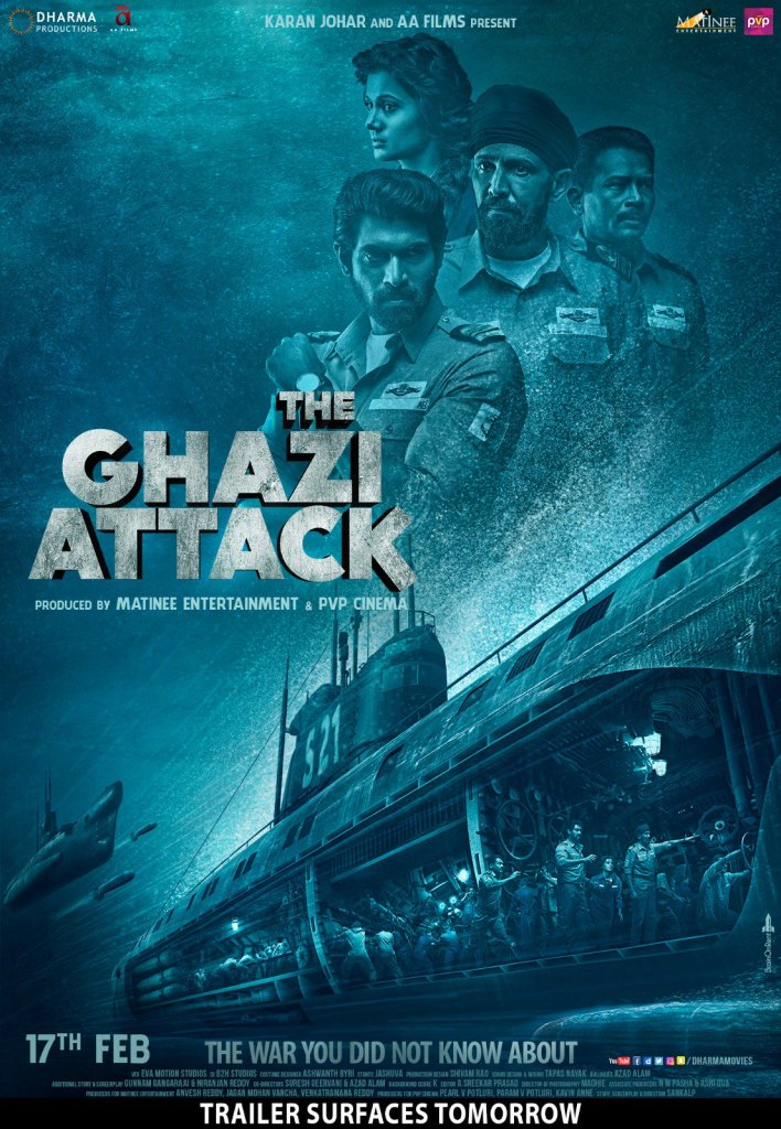 The Ghazi Attack Poster 2 - 2017 India Release Date