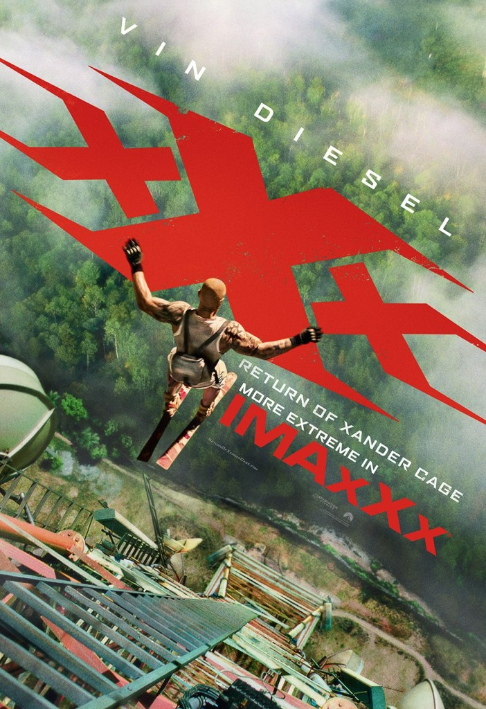 xXx Return of Xander Cage Movie Poster 15- India Release