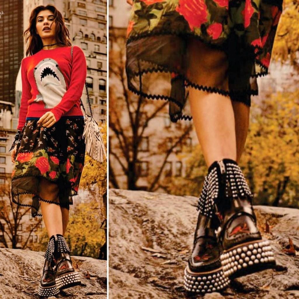 Jacqueline Fernandez Photoshoot for Grazia India Magazine February 2017 Image 2