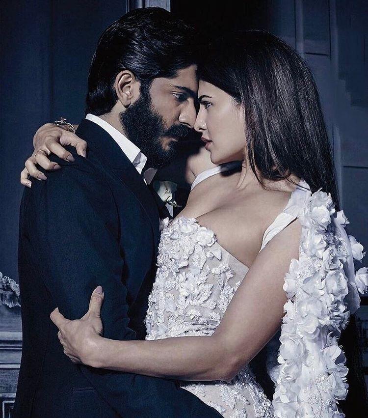 Jacqueline Fernandez and Harshvardhan Kapoor Photoshoot For Harper's Bazaar Bride Magazine February 2017
