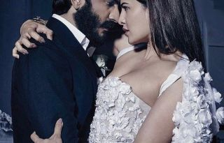 Jacqueline Fernandez and Harshvardhan Kapoor Photoshoot For Harper's Bazaar Bride Magazine February 2017 Image 4