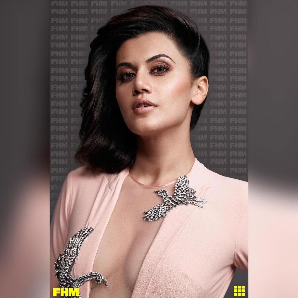 Taapsee Pannu Photoshoot For FHM India Magazine February 2017 Issue Image 4